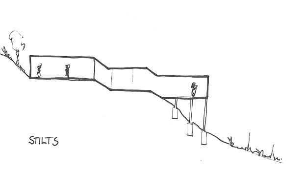 building on stilts