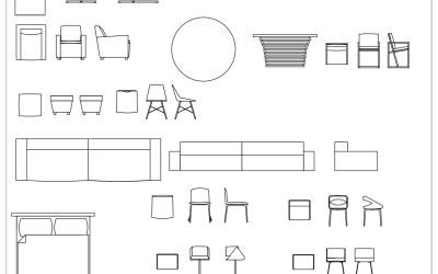 CAD Blocks – Furniture Pack 03
