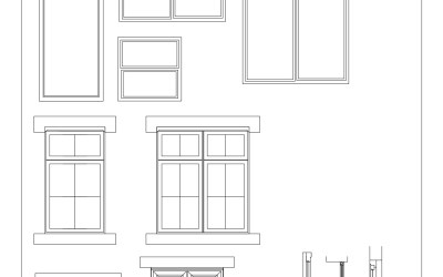 CAD Blocks – Windows 01