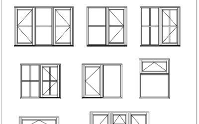 Free CAD Blocks – Windows 02