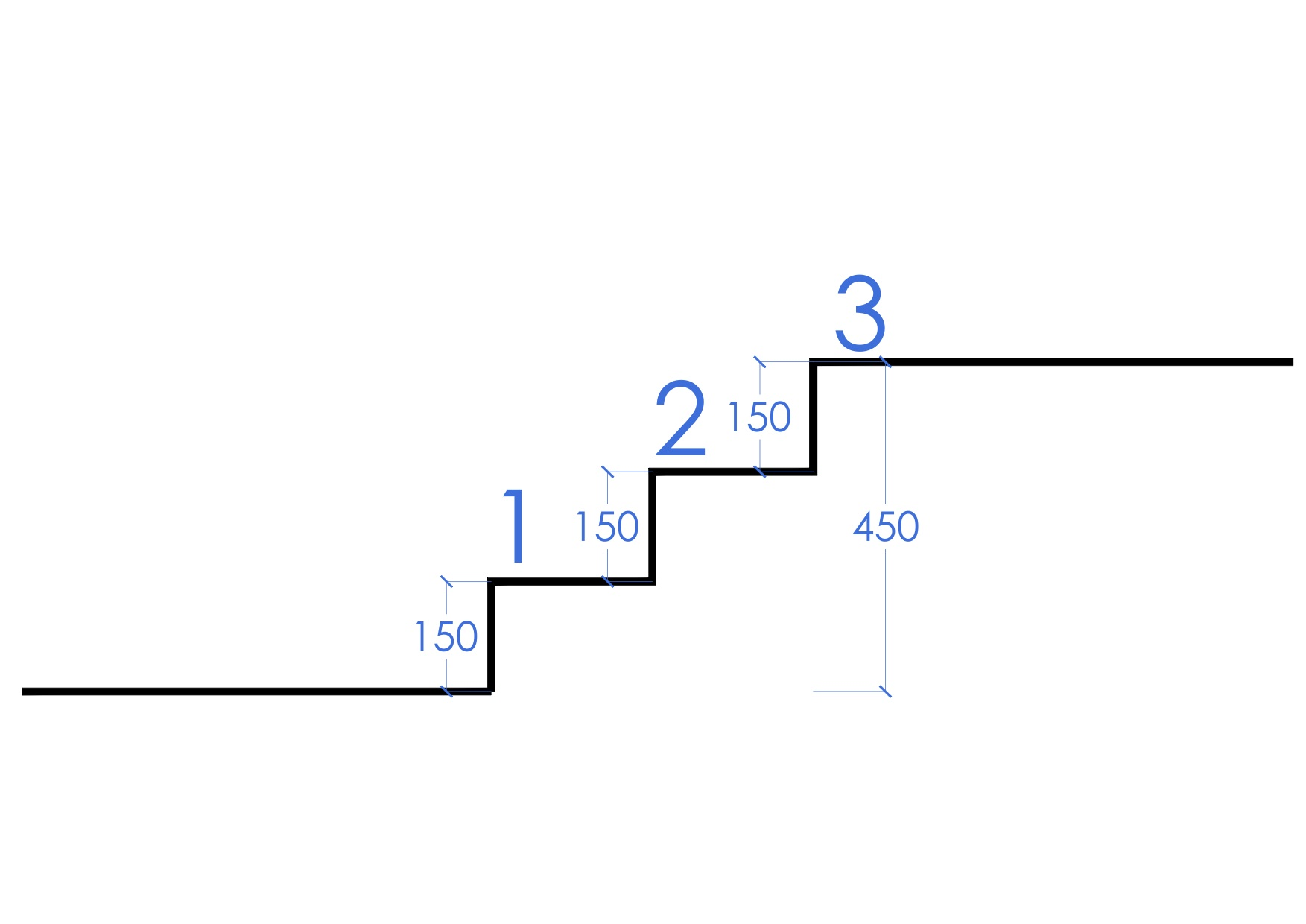 How to calculate stairs first in architecture 450 stairs 02 sciox Images