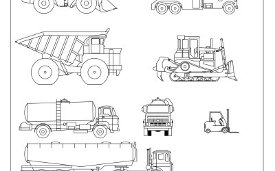 Free CAD Blocks – Vehicles 03