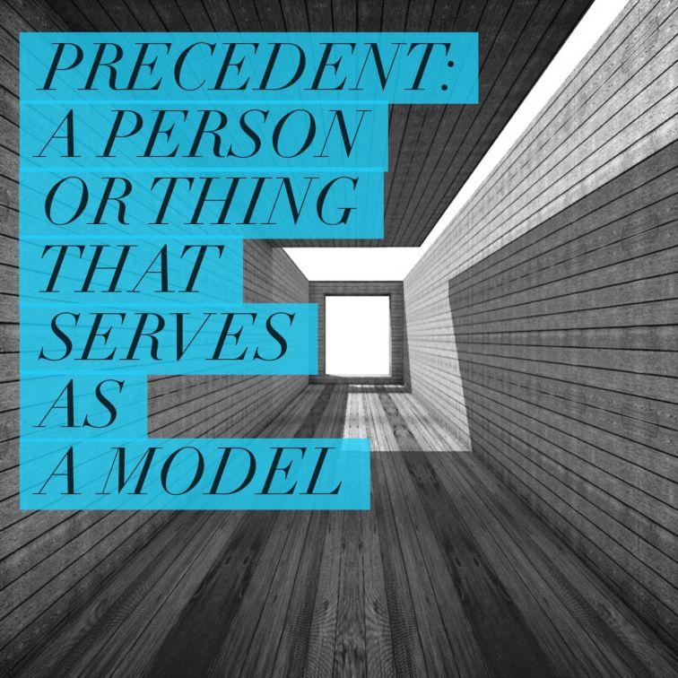 Architectural Precedent