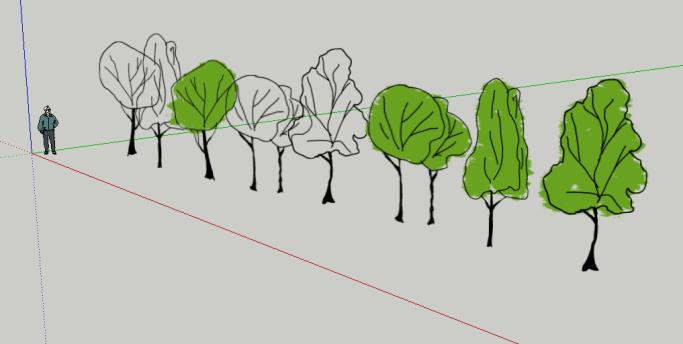 Free sketchup trees