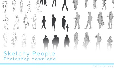 Sketchy people psd download