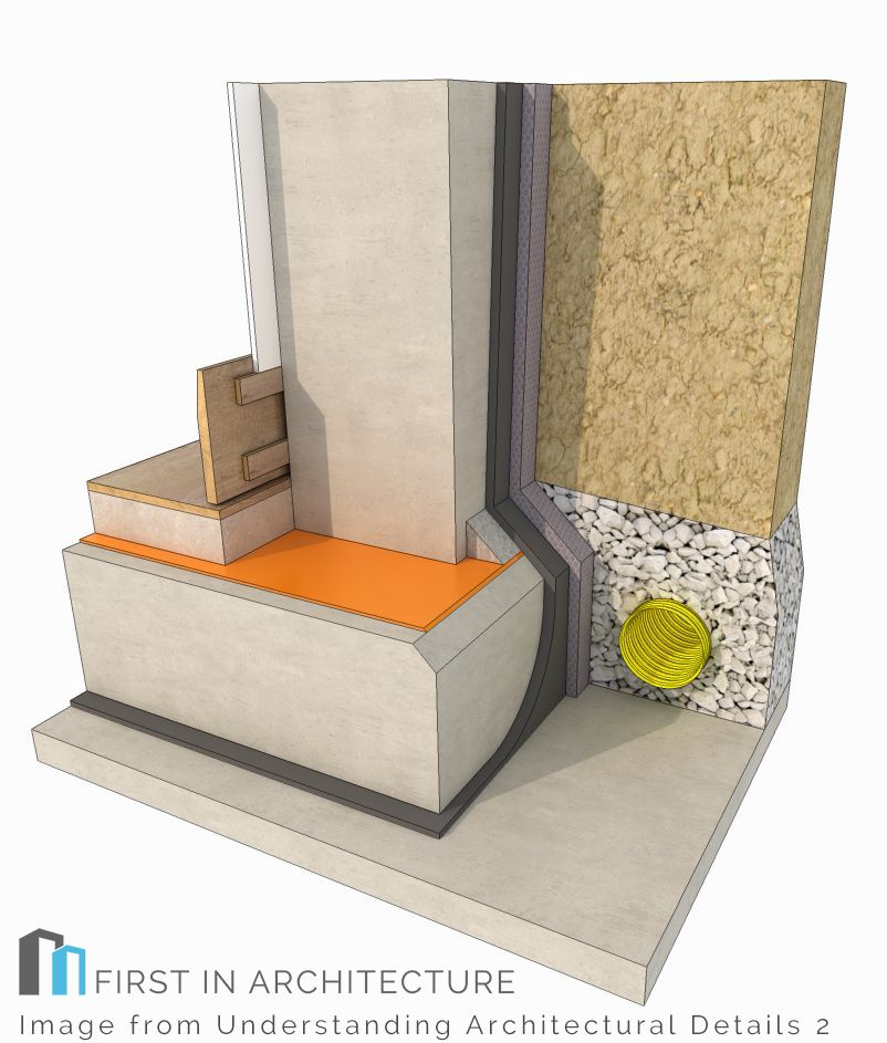 Concrete basement detail type A