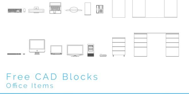 Free Cad Blocks Office Items