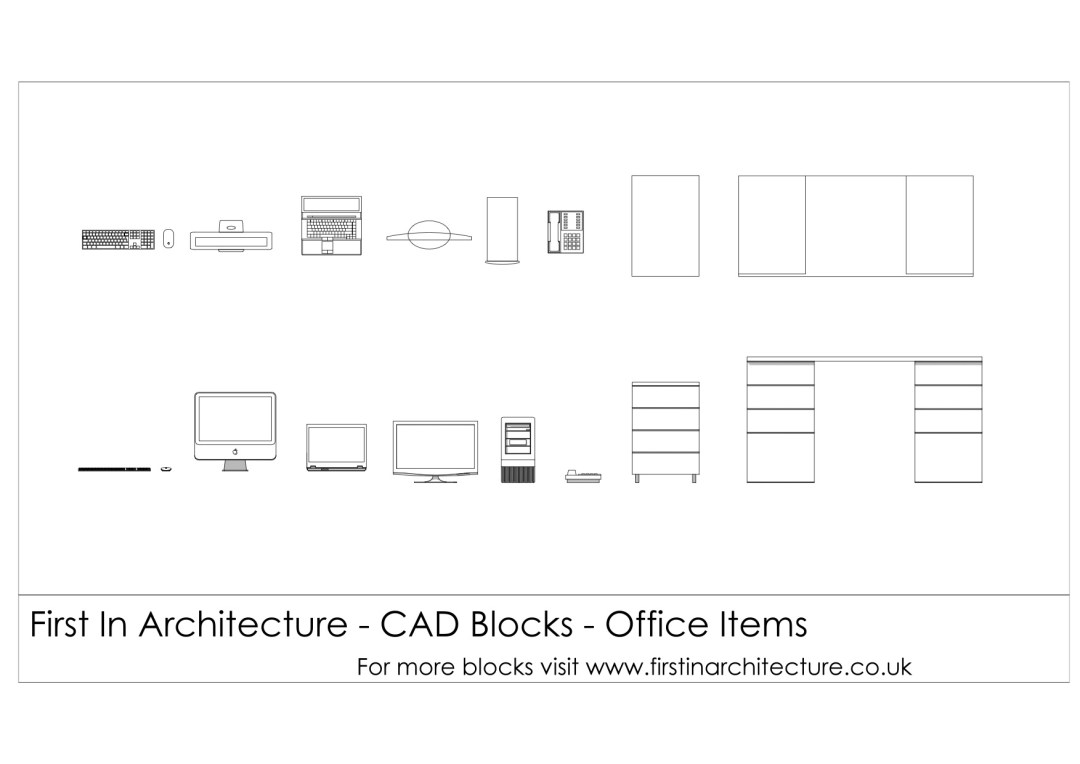 fia-cad-blocks-office-items