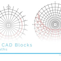 Sun Diagram Elevation Tele Wiring Picture Free Cad Blocks - Path Diagrams | First In Architecture
