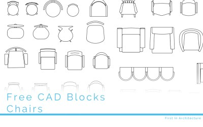 Free CAD Blocks – Chairs