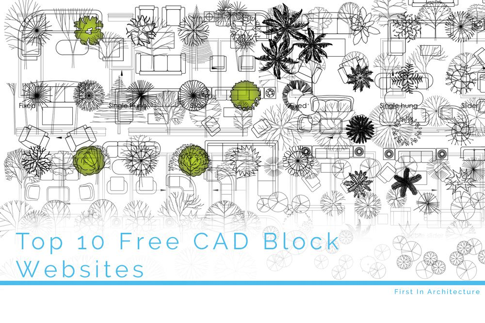 Top 10 Free AutoCAD Block Websites  First In Architecture