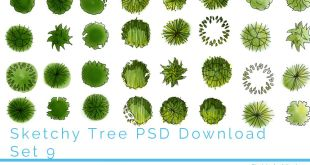Psd Downloads Sketchy Trees