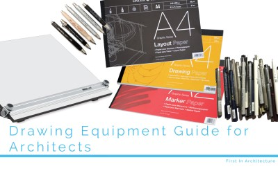 Drawing Equipment Guide for Architects