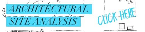 Architecture site analysis