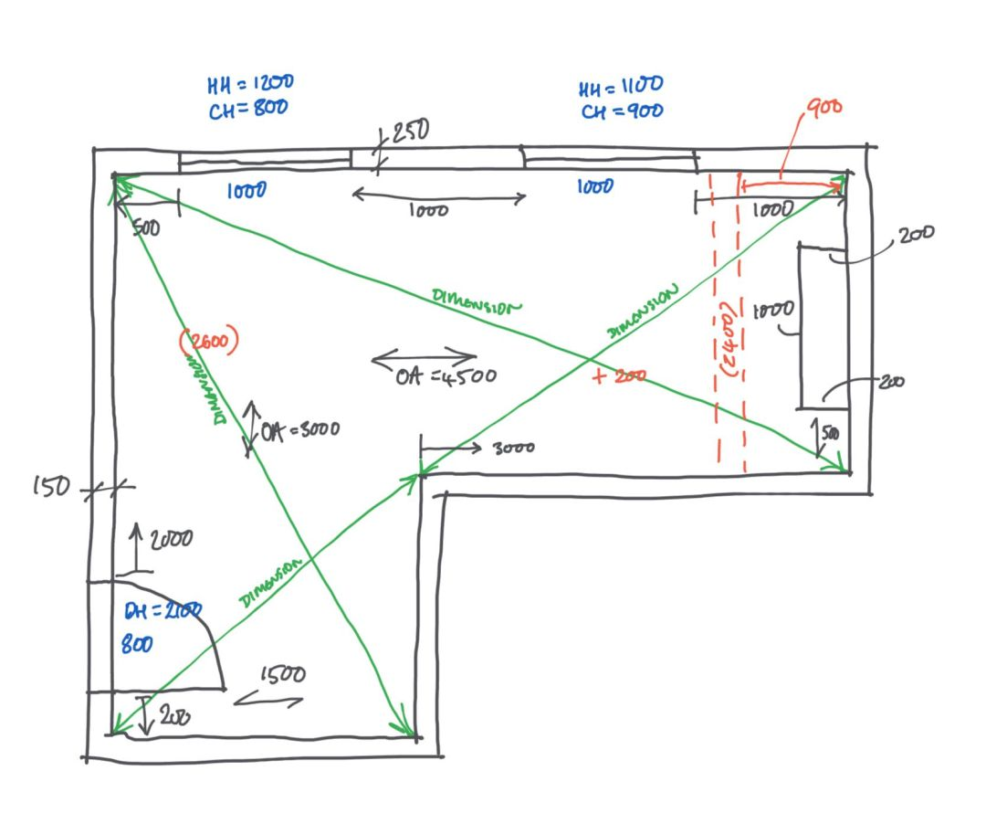 Measured Survey How To Measure A Building
