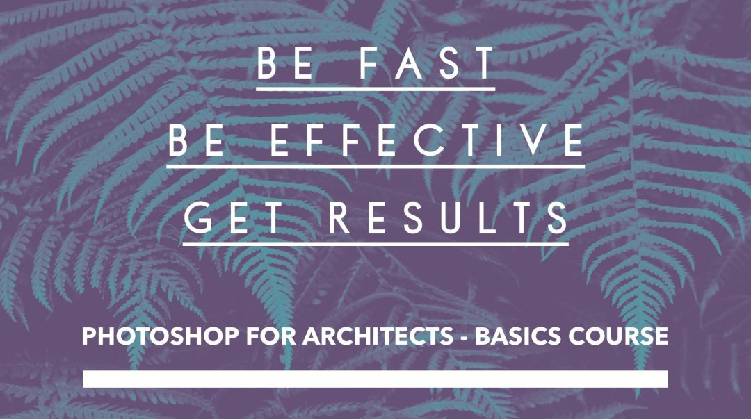 photoshop for architecture