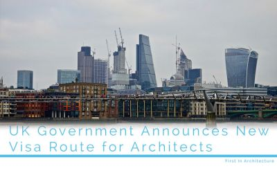 UK Government announces new visa route for architects