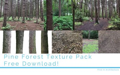 Pine Forest Texture Pack