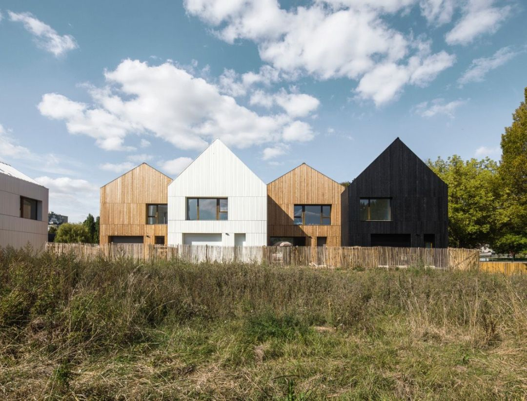 Wood and straw housing - NZI Architects