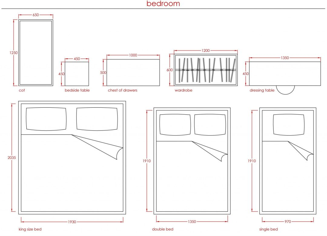 Metric Data 3 - Standard Furniture Sizes - First In Architecture