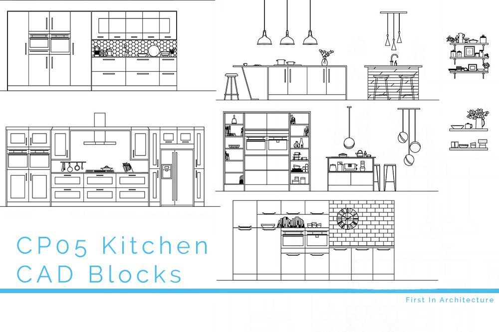 CP05 Kitchen CAD Blocks FI