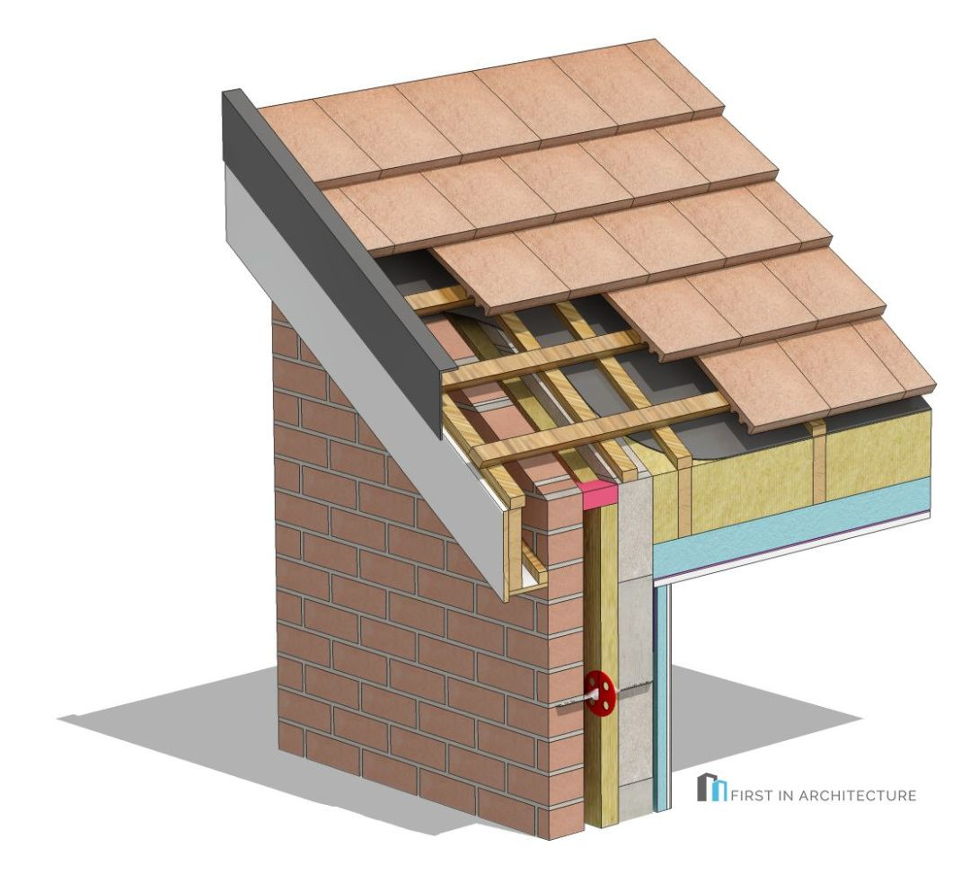 MR4 Gable end detail 3D