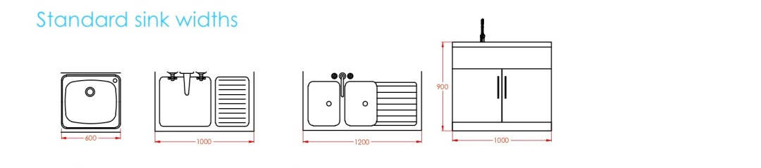 Metric Data 09 Kitchen Standard Sizes First In Architecture