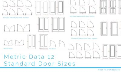 Metric Data 12 – Standard Door Sizes