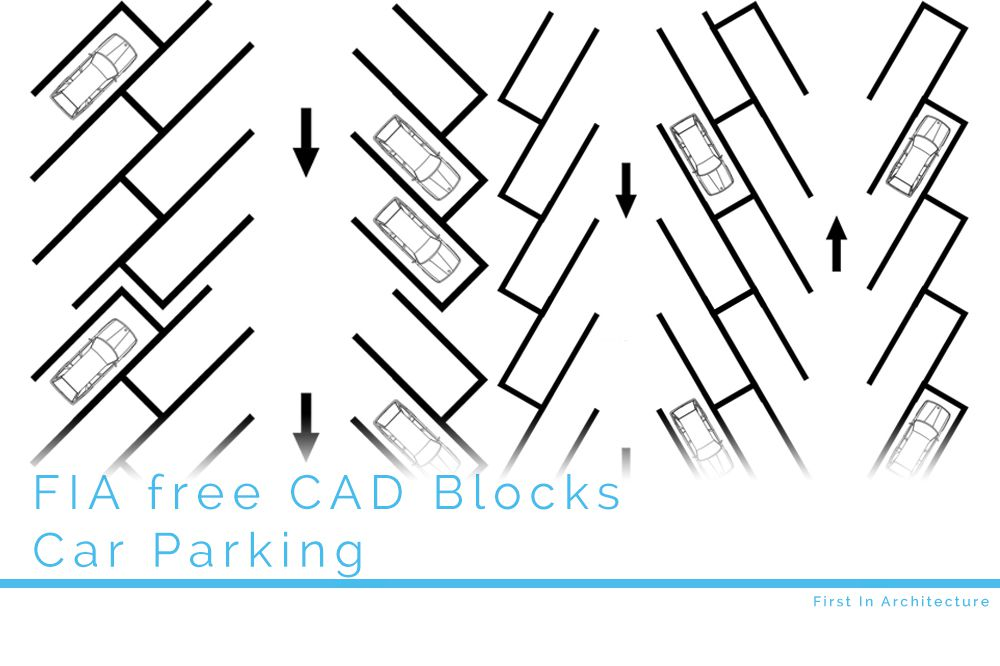 Free CAD Blocks – Car Parking