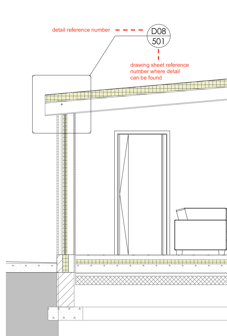 Architecture technical drawing layout 13