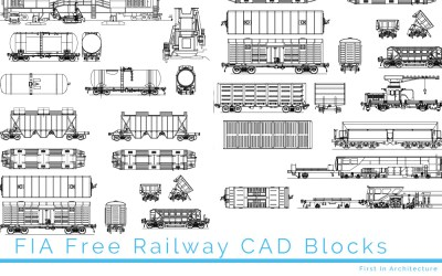 Free Railway CAD Blocks