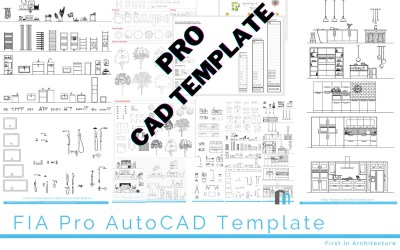 FIA Standard CAD Template – Pro Version