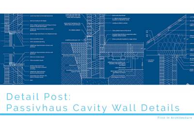 Details Post – Passivhaus Cavity Wall Details