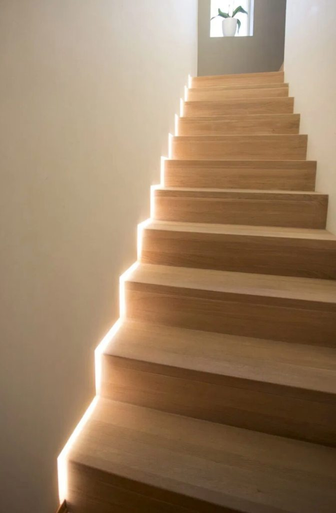 01 Stairs with lighting ideas