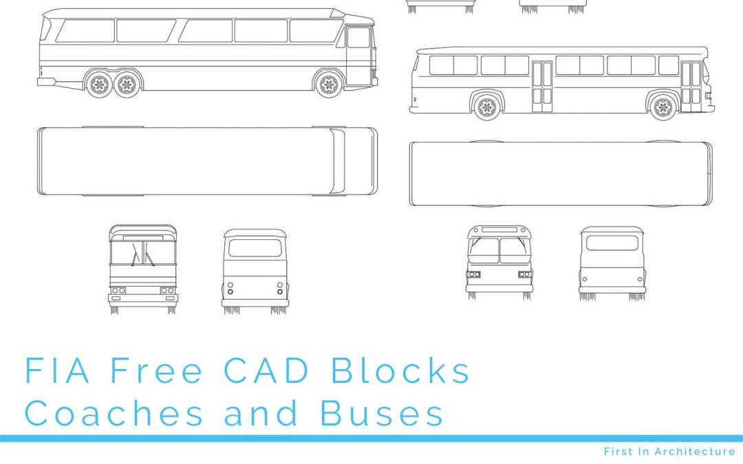 Free CAD Blocks – Coaches and Buses