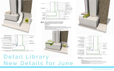 Detail Library – New Details for June