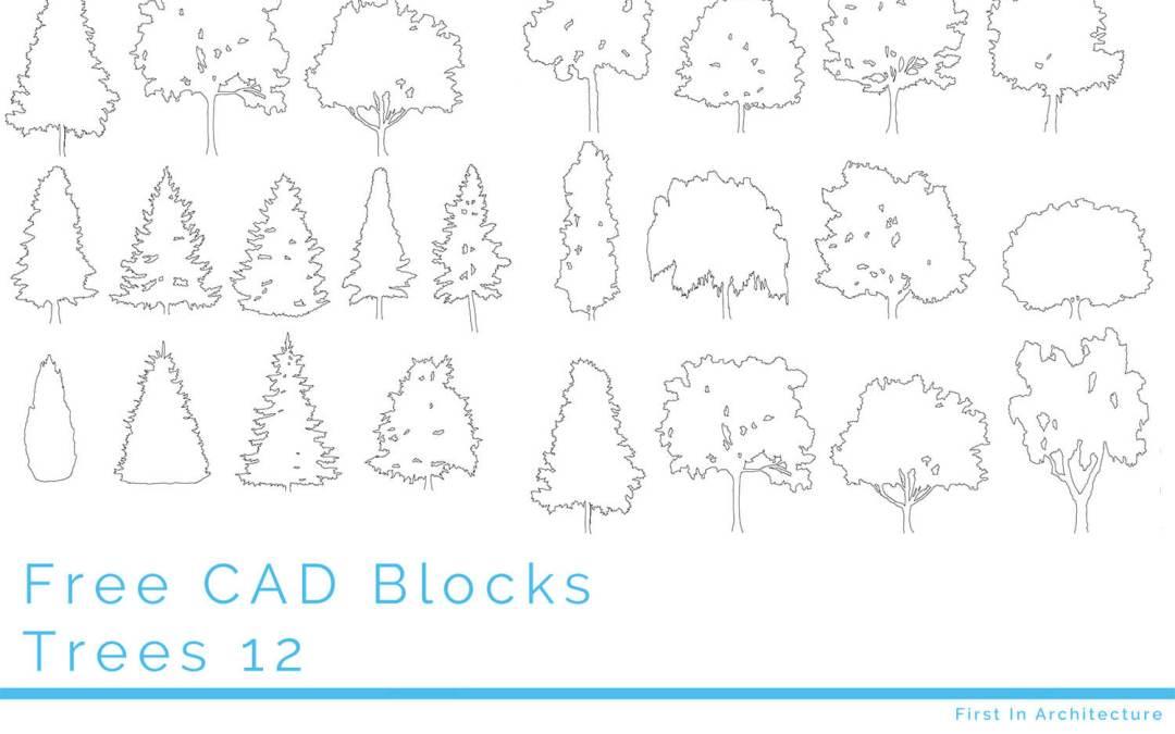 Free Tree CAD Blocks 12