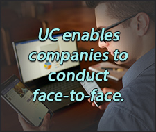 Unified Communications help with face-to-face meetings with Firstlight.ne