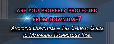 Whitepaper: Avoiding Downtime - The C-level guide to managing technology risk.