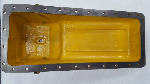 small resolution of caterpillar oil pan 8n1651