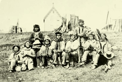 A photograph of Indigenous peoples.