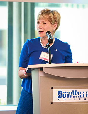 Sheila O'Brien is well-known not only for her long career in the energy sector, but also for her volunteer service in the Alberta Status of Women Action Committee, YWCA of Calgary, Alberta College of Art and Design, the Canadian Mental Health Agency, Foothills Hospital, and most recently chaired a two year national task force on Human Sex Trafficking.