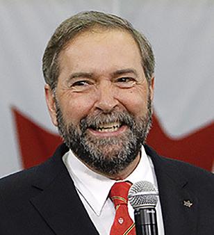 Thomas Mulcair - NDP Party Leader