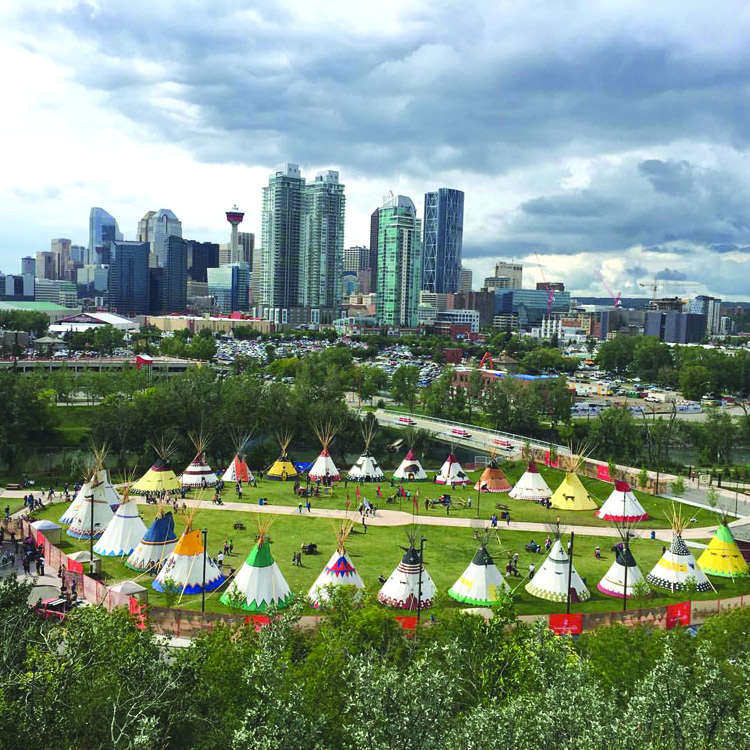 Stampede 2016 A Report On The New Indian Village First