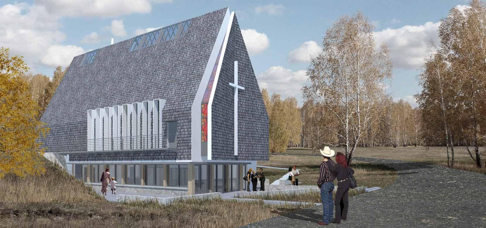 Doig River Community Church, Rose Prairie, BC