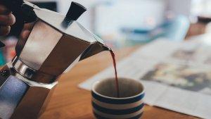 Caffè e caffettiera moka