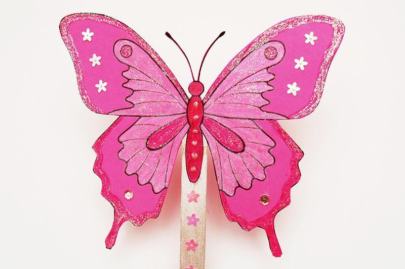 Butterfly Fan Kids Crafts Fun Craft Ideas Firstpalette Com