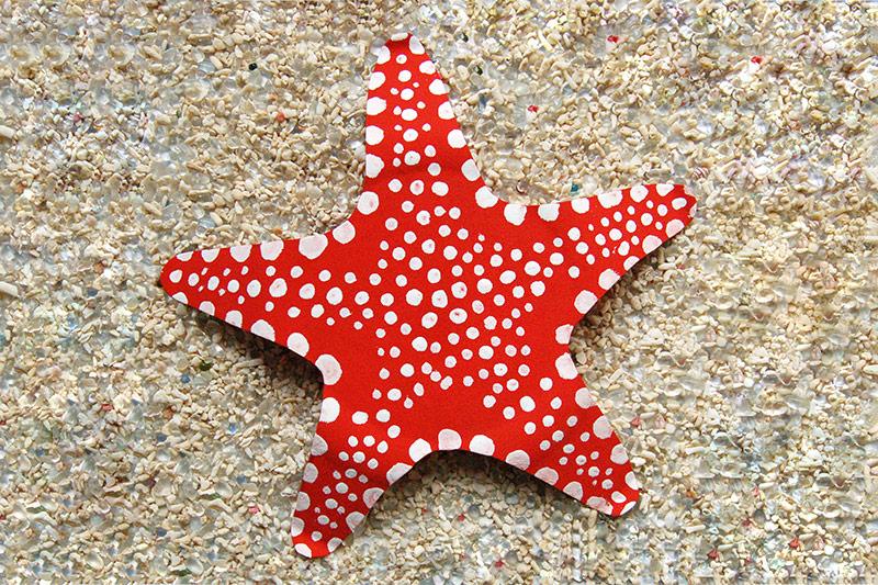 paper plate starfish kids