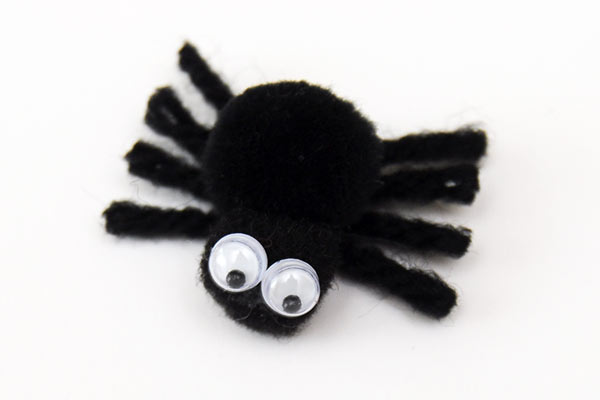 Pom Pom Spider Kids Crafts Fun Craft Ideas Firstpalette Com