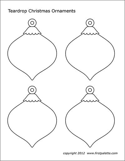 Christmas Printable Ornaments